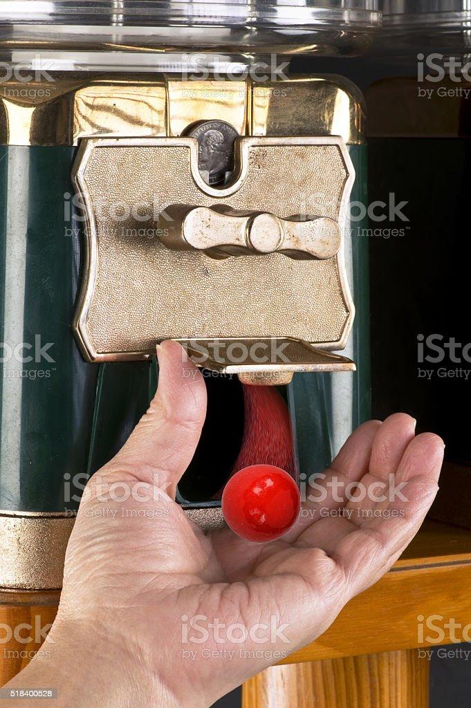 Gumball Machine. stock photo