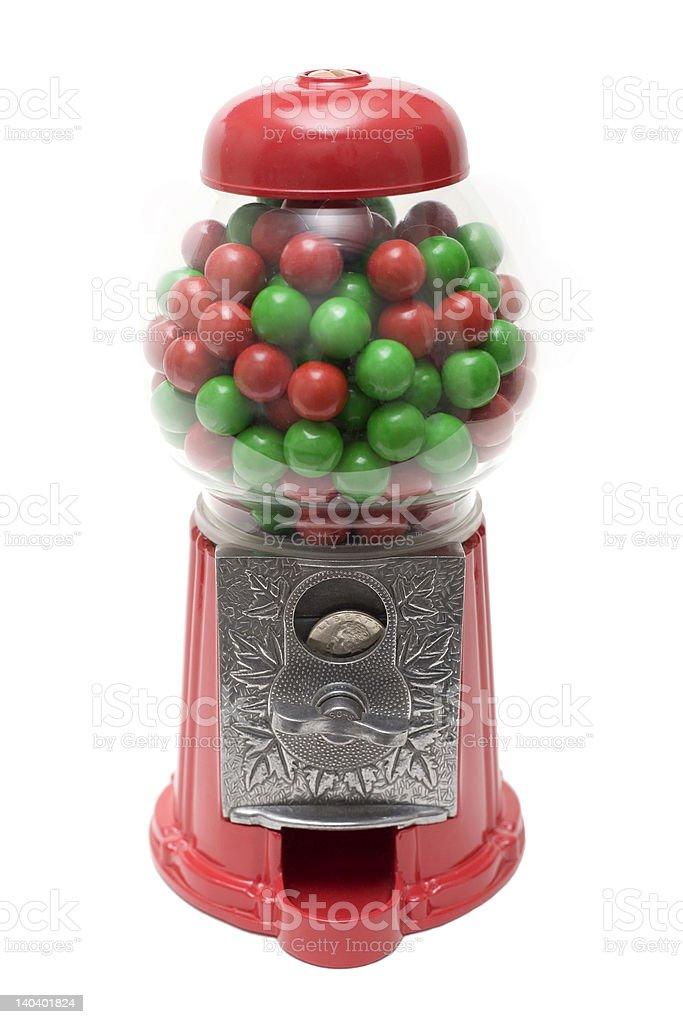 GumBall Machine Red Green stock photo