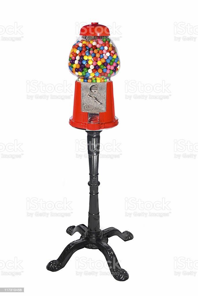 Gumball Vending Machine stock photo