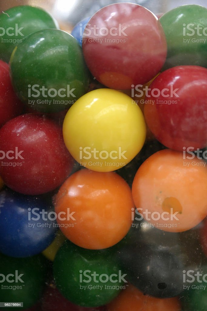 Gumballs royalty-free stock photo