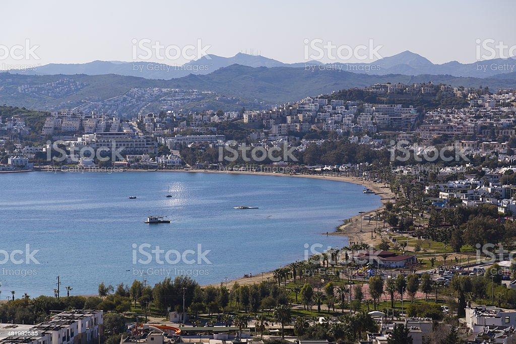Gumbet, Bodrum, Turkey stock photo