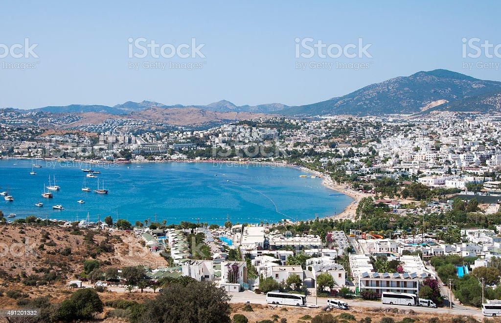 Gumbet, Bodrum,Turkey stock photo