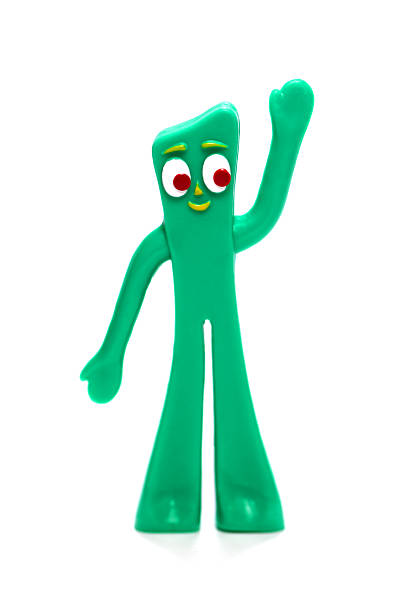 Gumby stock photo