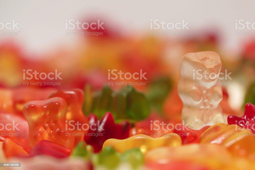 Gummibären stock photo