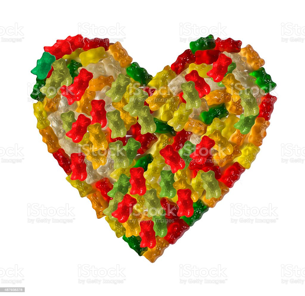 Gummy Bear Heart Stock Photo & More Pictures of 2015   iStock