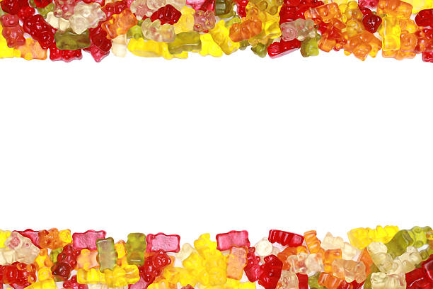 royalty free gummy bears candies border pictures images
