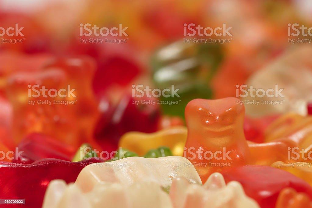 Gummy candy stock photo