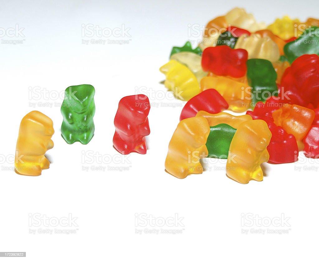 Gummy Friends royalty-free stock photo