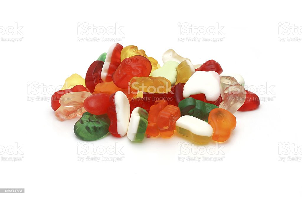gums candy royalty-free stock photo