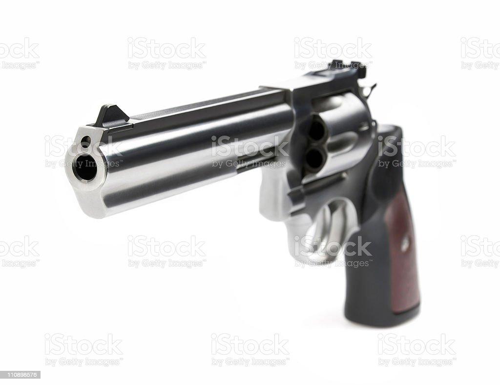 Pistola 357 Magnum - foto de stock