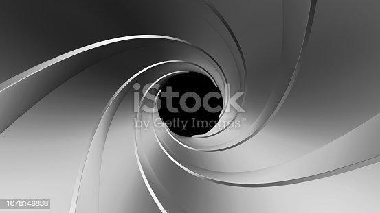 1096211026 istock photo gun barrel 3d rendering 1078146838