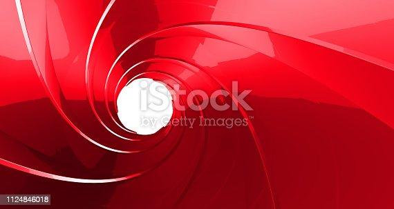 1096211026 istock photo gun barrel inside 3d rendering 1124846018