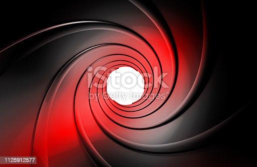 1096211026 istock photo gun barrel inside 3d rendering 1125912577