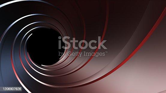 1096211026 istock photo gun barrel,high resolution 3d rendering 1206907626