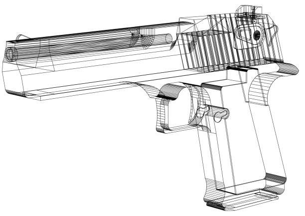 Gun - Blaupause – Foto