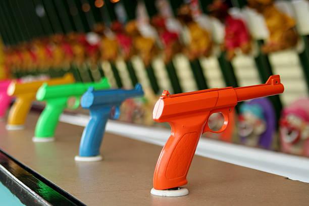 Gun Carnival stock photo