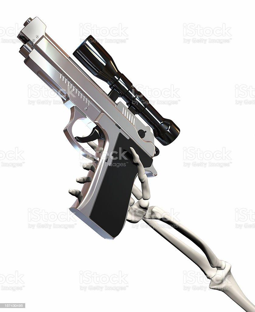 Gun concept stock photo