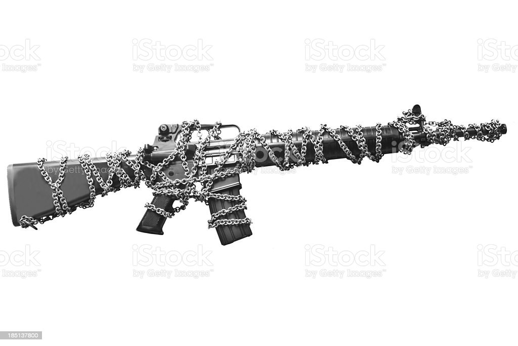 Gun control royalty-free stock photo