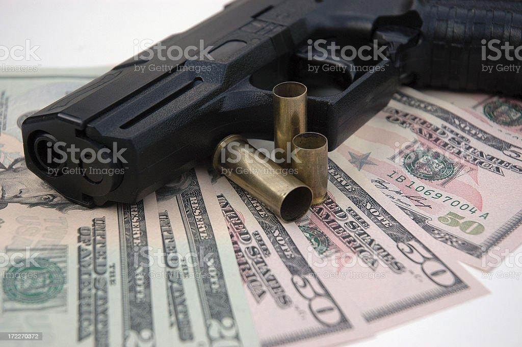 Gun Crime stock photo