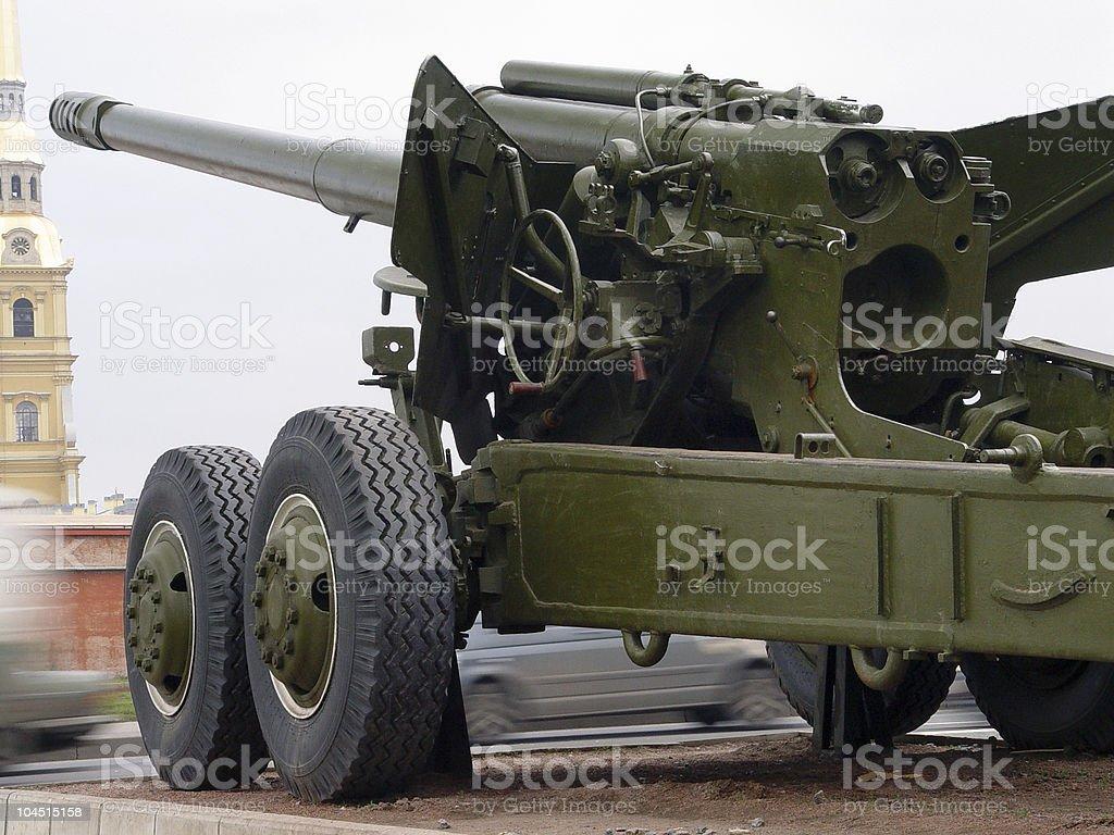 gun detail royalty-free stock photo
