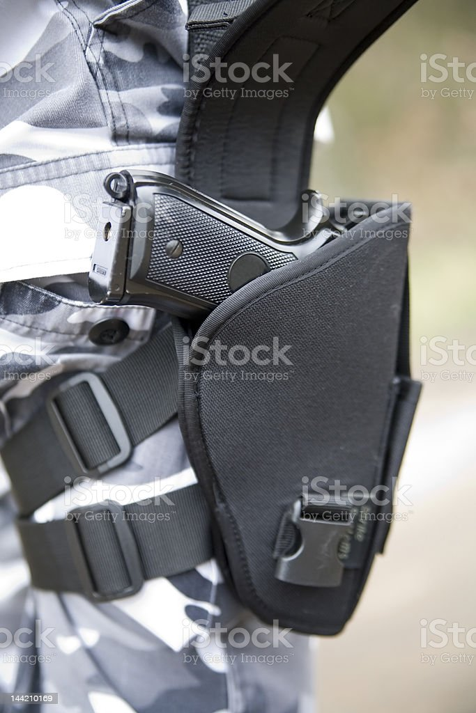 gun holster royalty-free stock photo