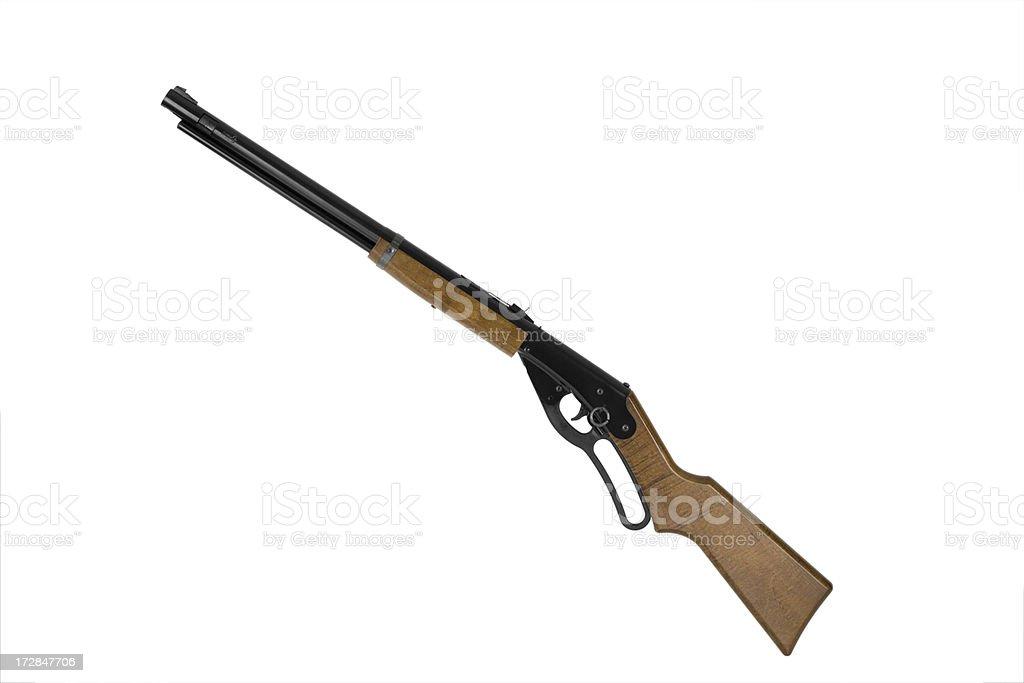 BB gun isolated on white. stock photo