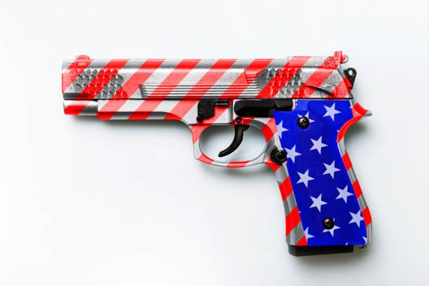 Gun law stock photo