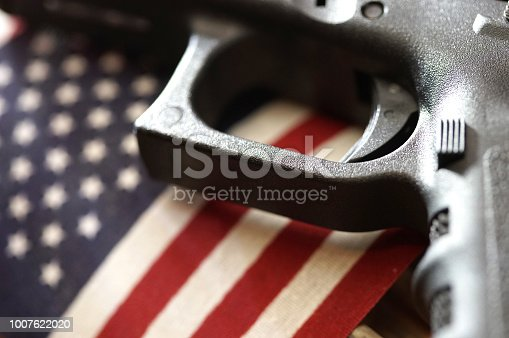 close up shot of a gun