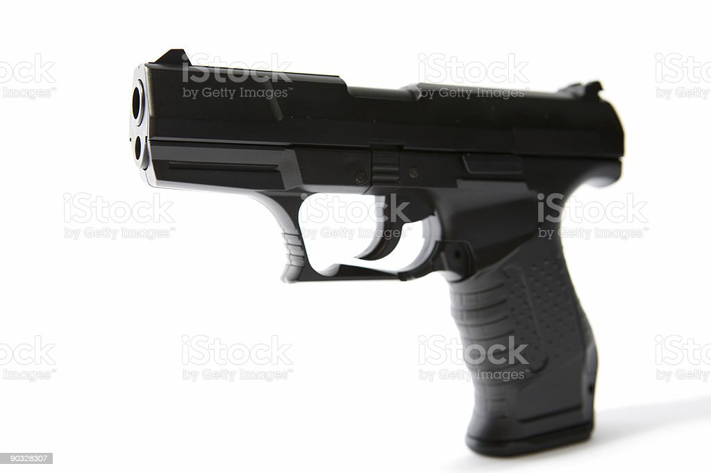 Gun #2 (superhires) stock photo