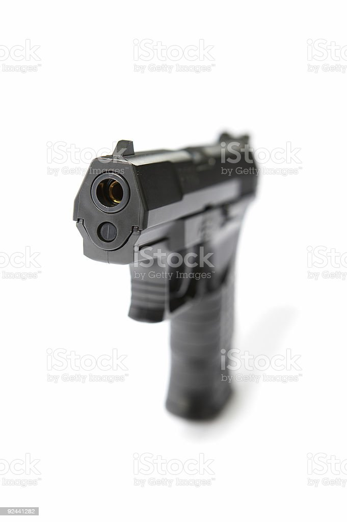 Gun #1 (superhires) stock photo