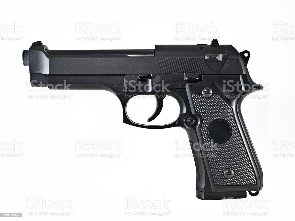 gun pistol royalty-free stock photo