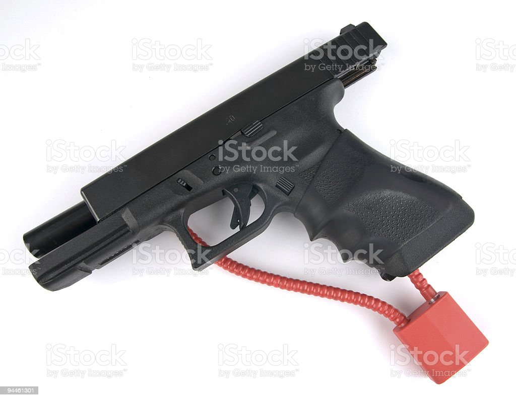 Gun Safety royalty-free stock photo