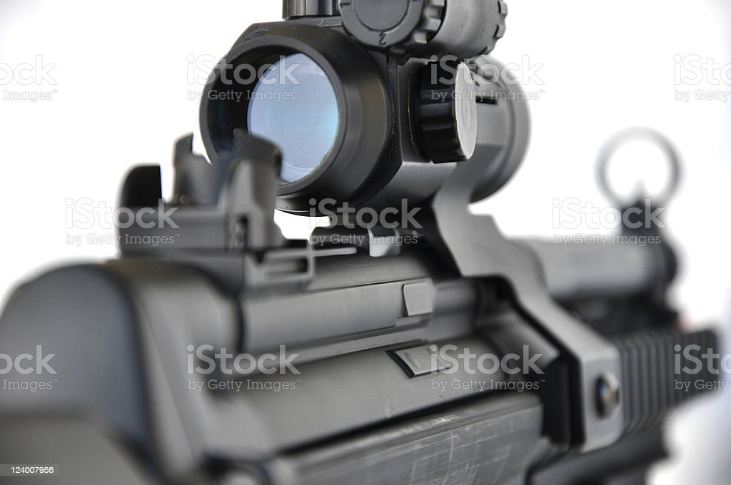 Gun Sight royalty-free stock photo