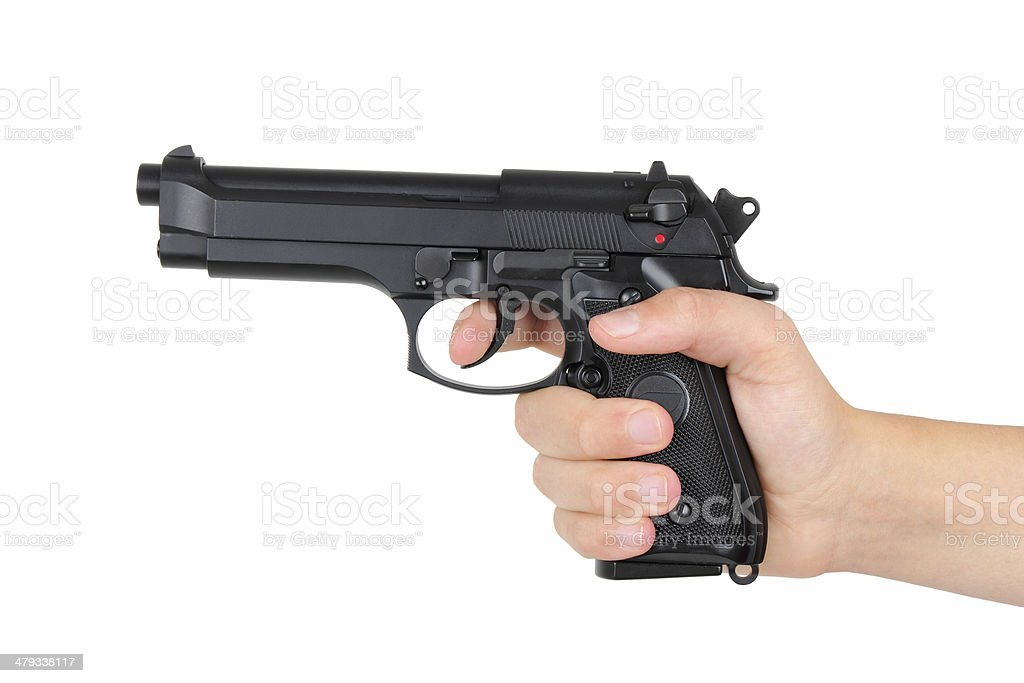 Gun - Stock Image stock photo