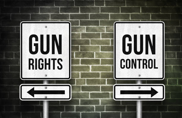 Waffengewalt in Amerika - Rechte versus Kontrolle – Foto