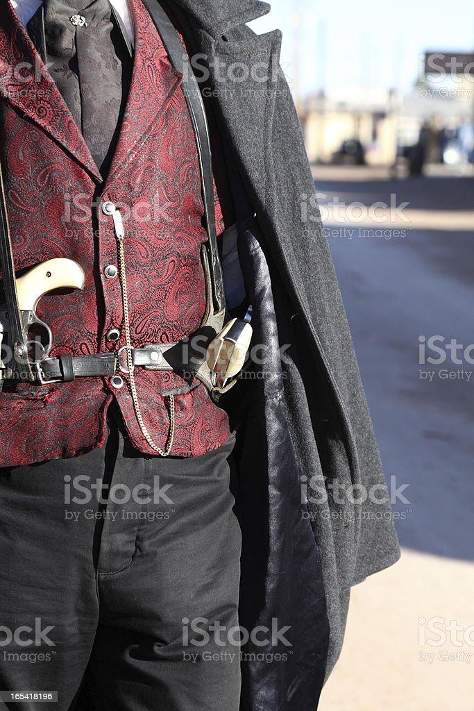 Gunfighter royalty-free stock photo