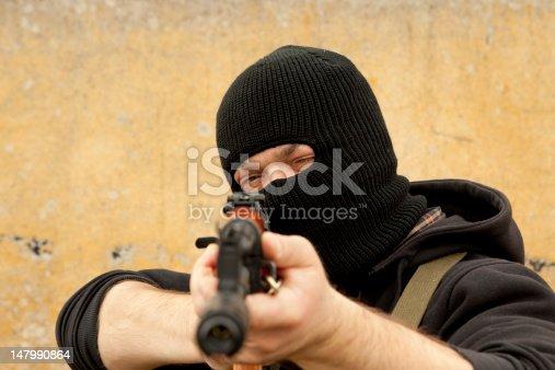 istock Gunman 147990864