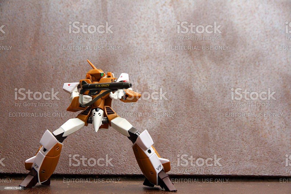 Gunning Stance stock photo