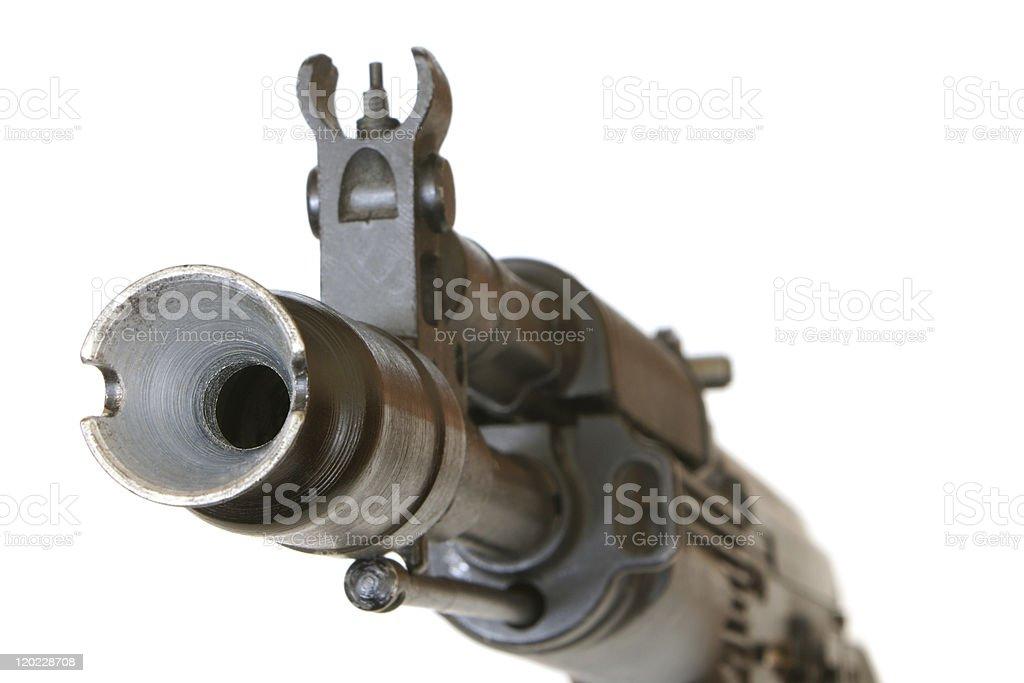 Gunpoint royalty-free stock photo