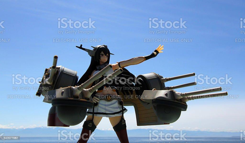 Guns And Mountains stock photo