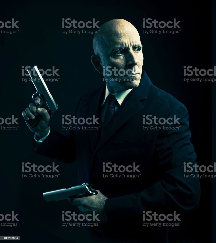 guns for hire royalty-free stock photo