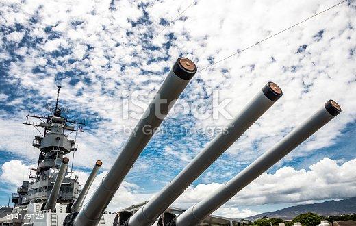 Guns of the USS Missouri