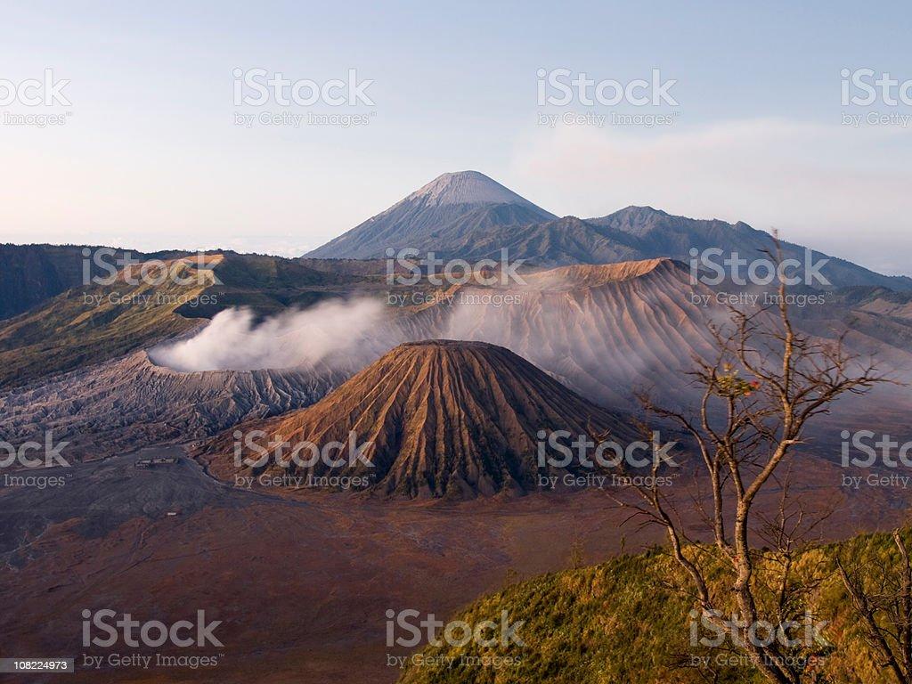 Gunung Bromo Volcano Indonesia stock photo