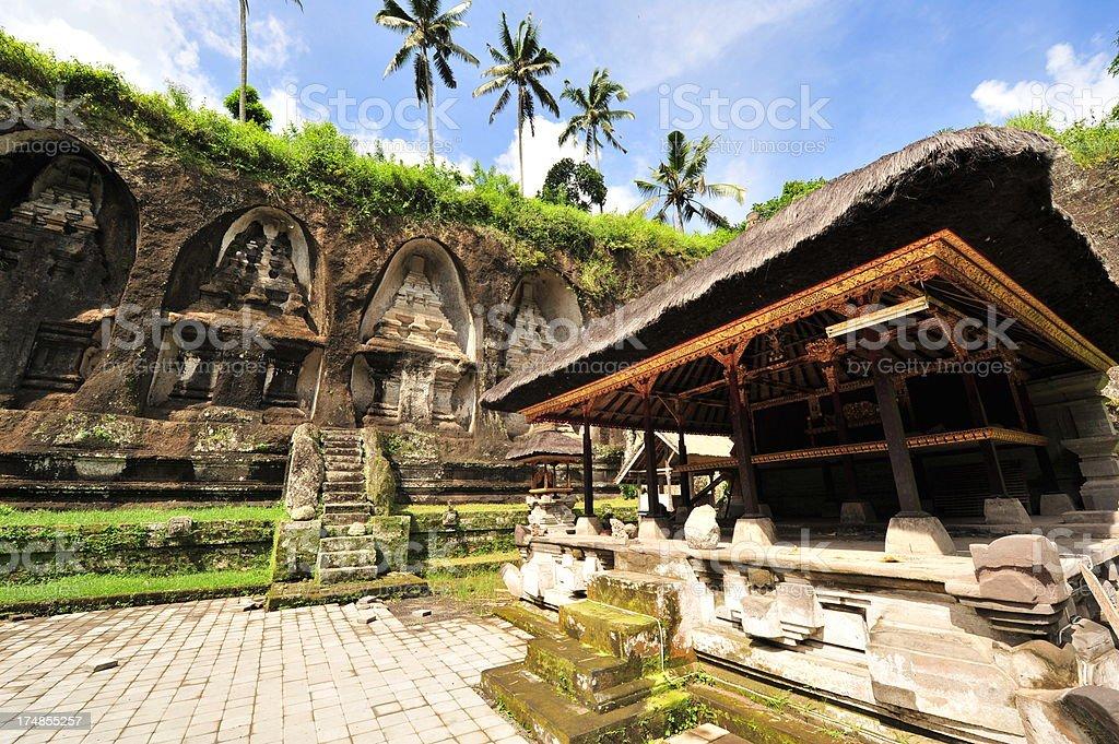 Gunung Kawi, Bali stock photo