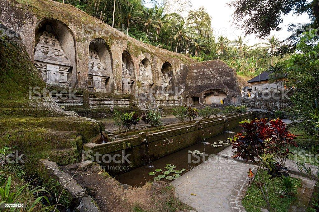 Gunung kawi temple in Bali stock photo