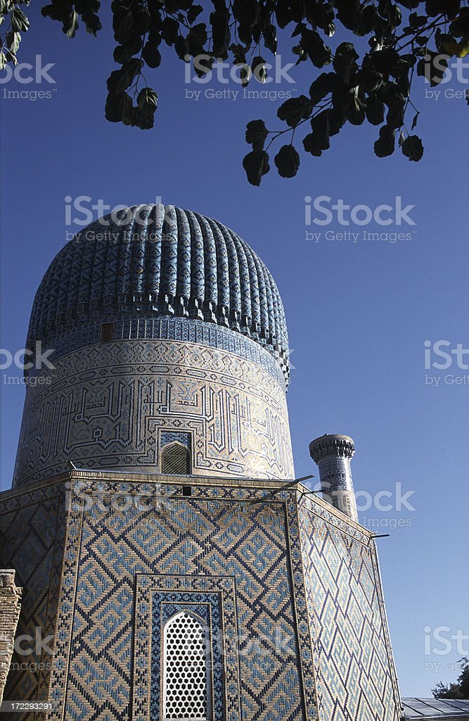Gur Emir Mausoleum (1404) royalty-free stock photo