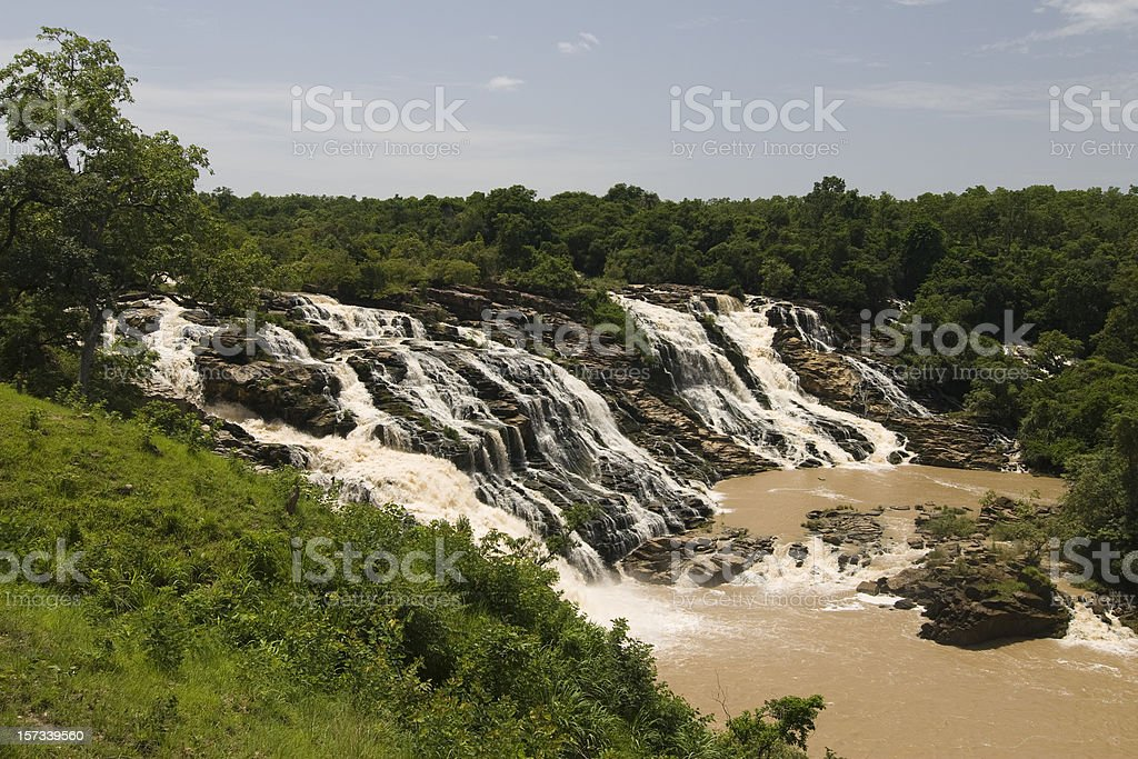 Gurara Falls stock photo