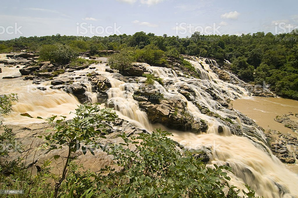 Gurara Falls royalty-free stock photo