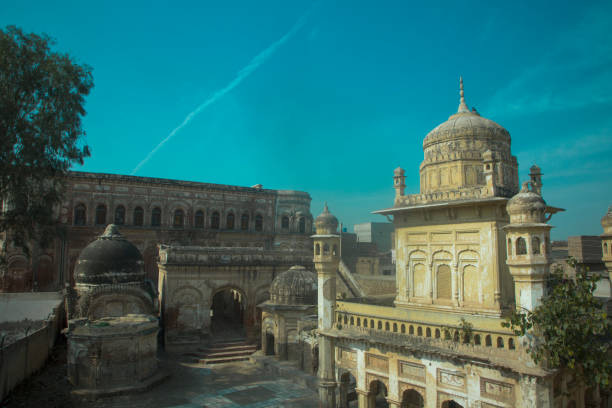 Gurdwara Baba Sri Chand - Pakistan stock photo