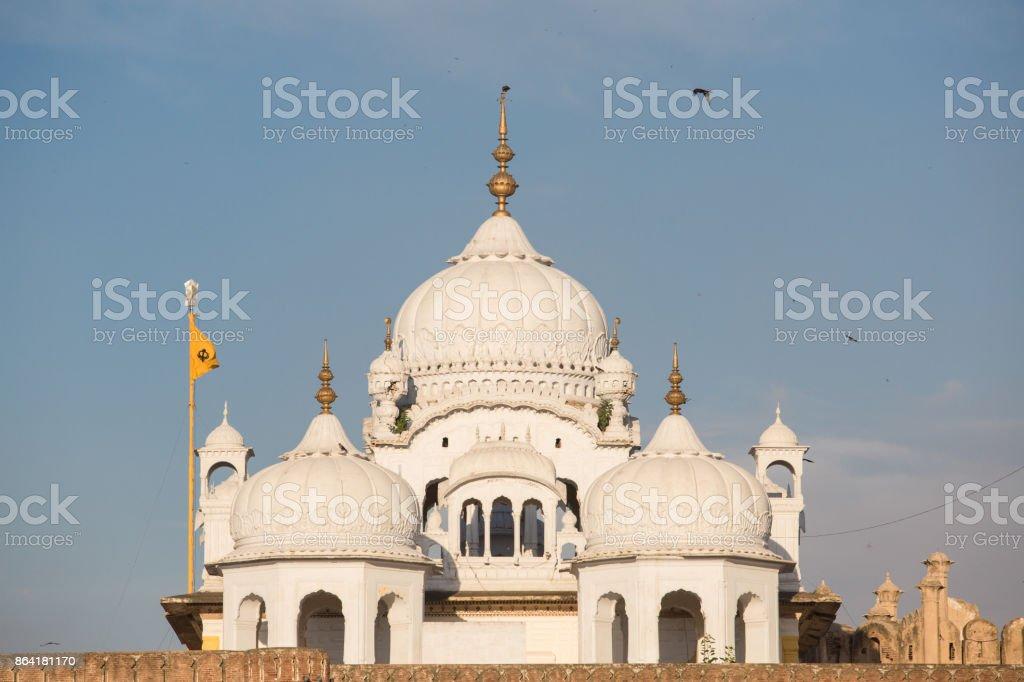 Gurdwara Dehra Sahib Sri Guru Arjan Dev stock photo